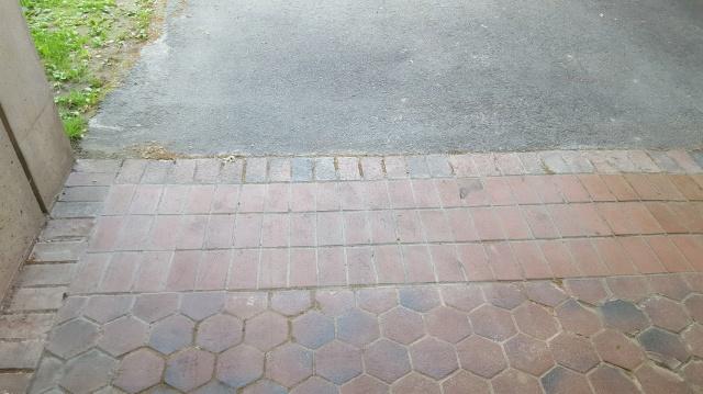 Repaired walkway
